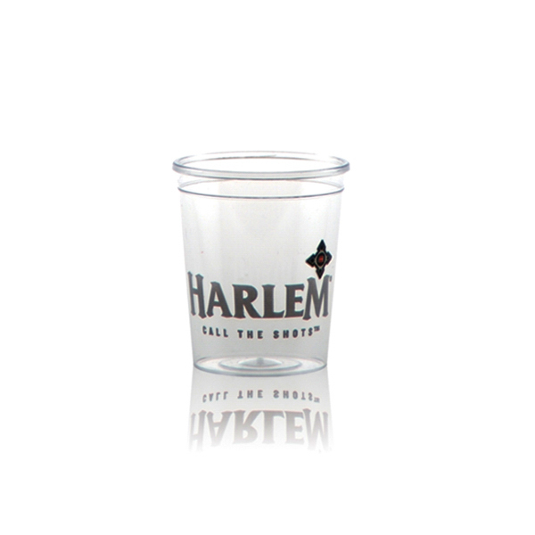 Offset Clear Plastic Cup 2oz