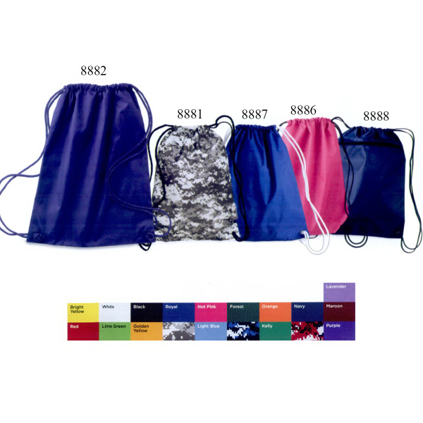 Liberty Bags Large Drawstring Pack with DUROcord (R)