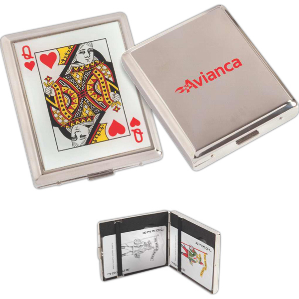 Everywhere playing card set and case