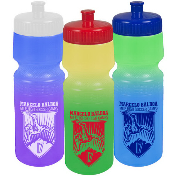 The Screen 24 oz Cool Color Change Bottle