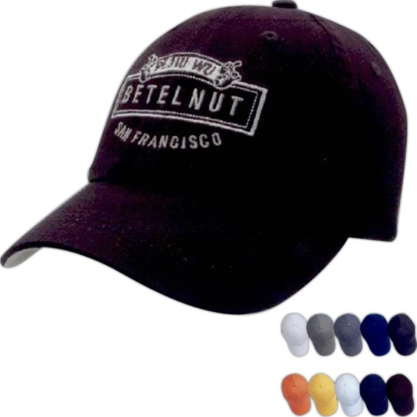 Unconstructed Chino Washed cotton Twill Cap
