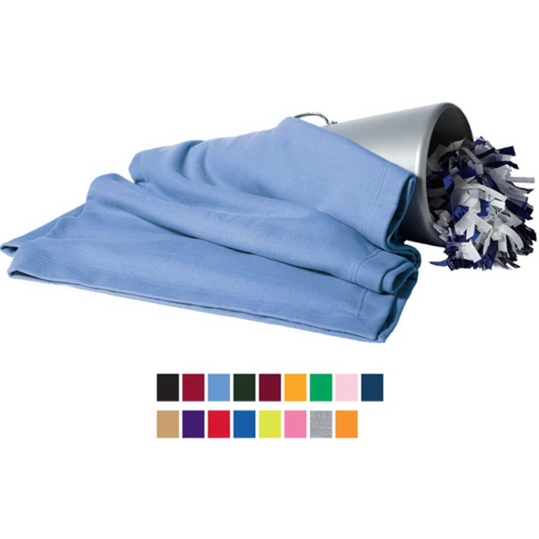 Gildan Dry-Blend (TM) fleece stadium blanket