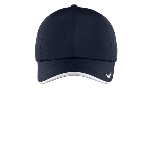 Nike Golf Dri Fit Swoosh Perforated Cap - GOimprints b2cd1dfdad0