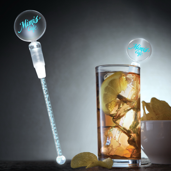 Deluxe Dual White LED Cocktail Stirrer
