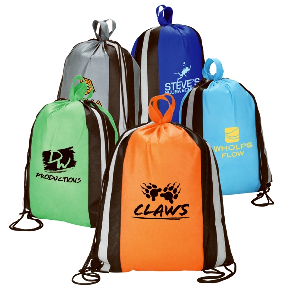 The Big Hit Bag with Reflective Stripes
