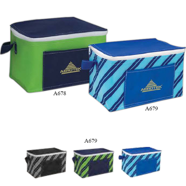 Poly Pro Printed 6-Pack Cooler