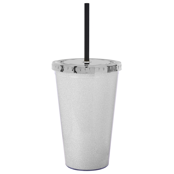 16 Oz Double Wall Acrylic Tumbler With Insert Goimprints
