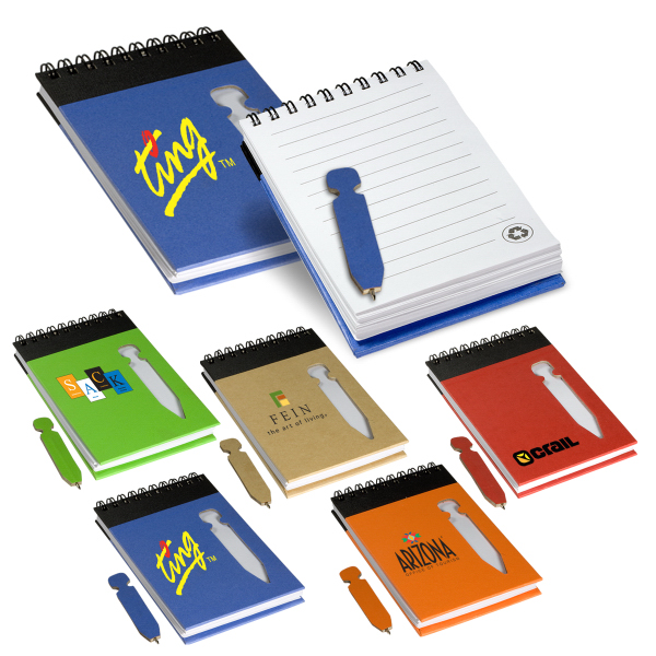Eco Jotter with Die-Cut Pen
