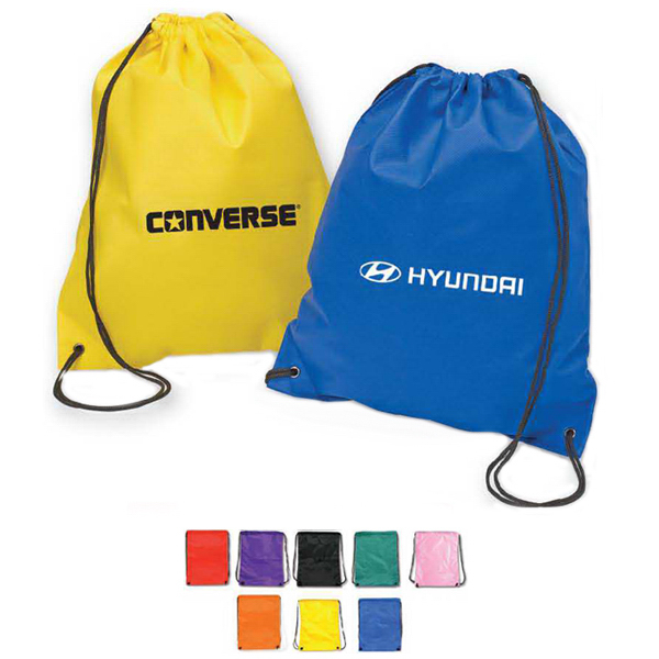 Non Woven Drawstring Backpack- Full Color
