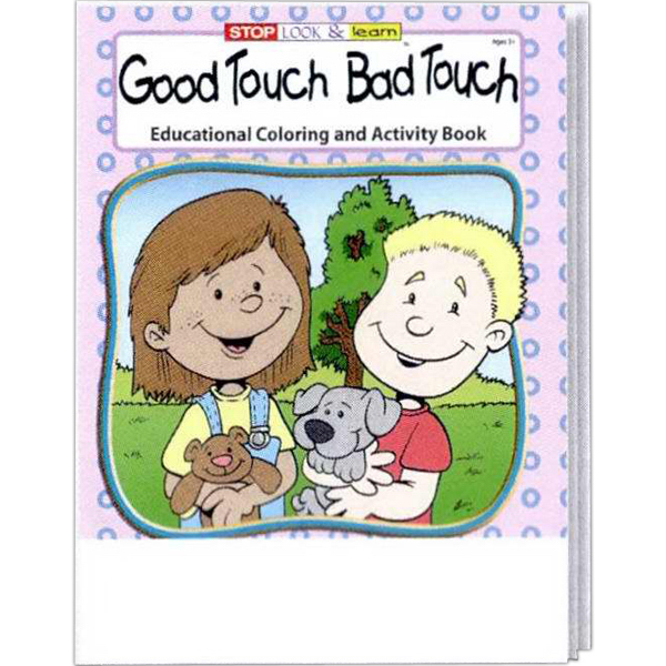 Good Touch Bad Touch Coloring and Activity Book - GOimprints