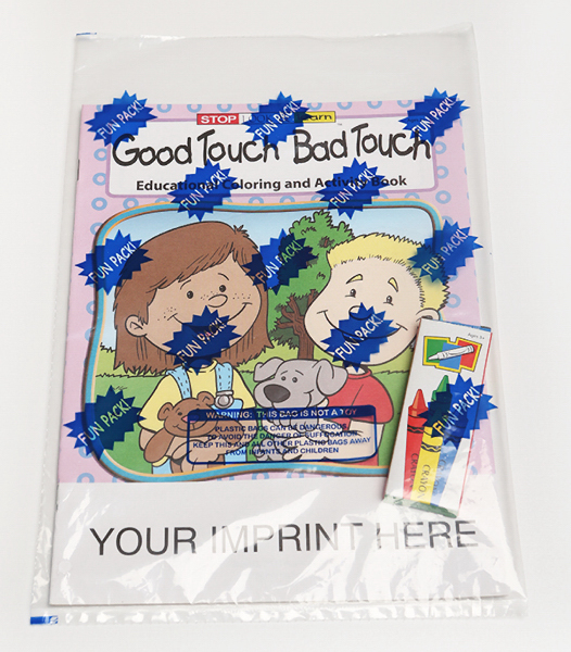 Good Touch Bad Touch Coloring and Activity Book Fun Pack - GOimprints