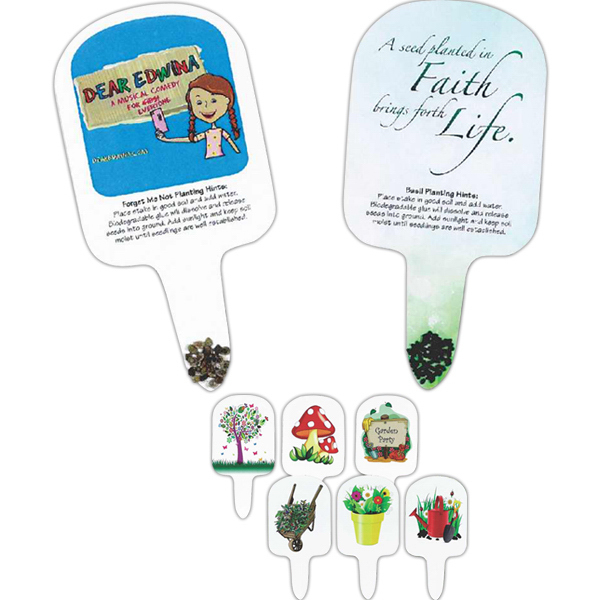 Garden Art Compostable Seed Stakes