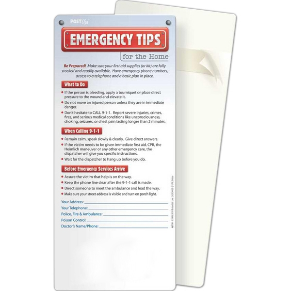 Post Ups - Emergency Guide: Important Phone Numbers - GOimprints