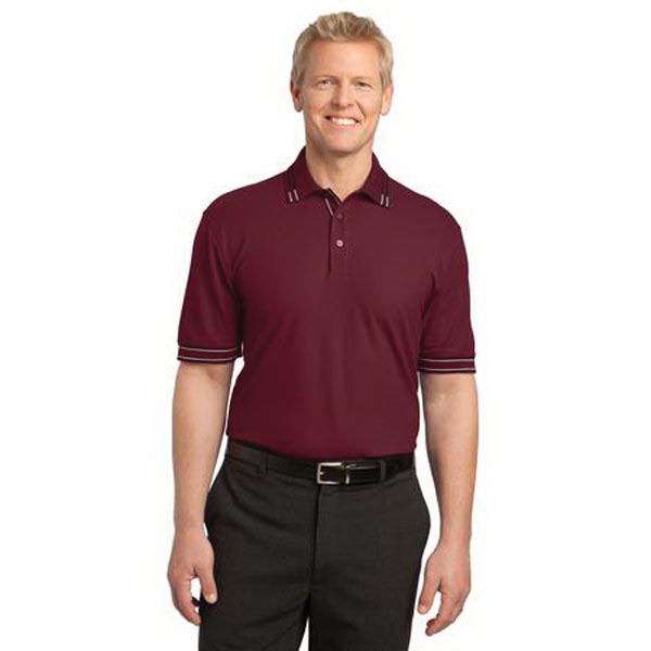 Port Authority (R) Silk Touch (TM) Tipped Polo