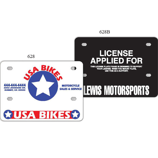 Motorcycle License Plate Support - GOimprints