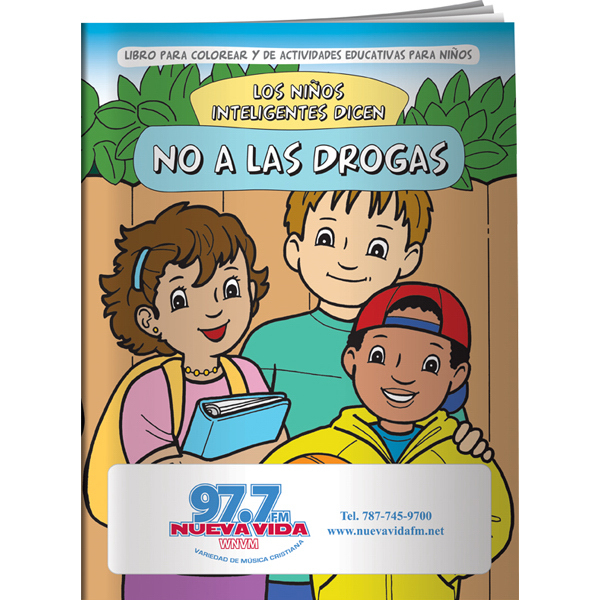 Coloring Book - Smart Kids Say NO to Drugs! (Spanish) - GOimprints