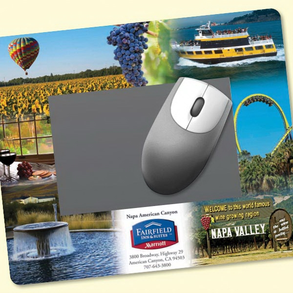 "Frame-It Flex(R) 8""x9.5""x1/8"" Window/Photo Mouse Pad"