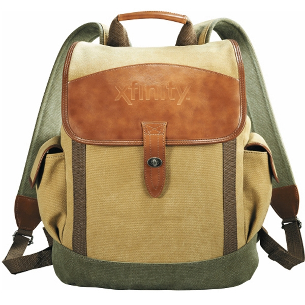 Cutter & Buck (R) Legacy Cotton Rucksack Backpack