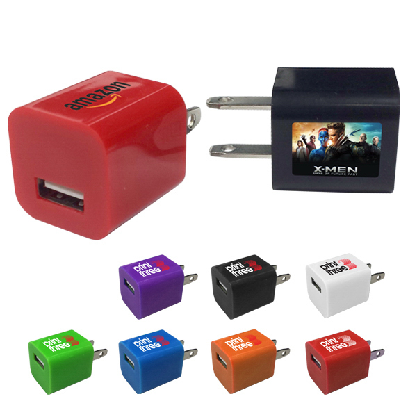 USB Power Adapter- A/C wall charger plug