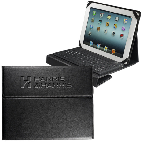 wireless bluetooth keyboard case for ipad r tablet goimprints. Black Bedroom Furniture Sets. Home Design Ideas