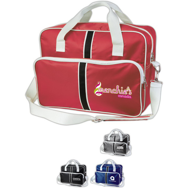 The Sporty Retro Duffel Bag