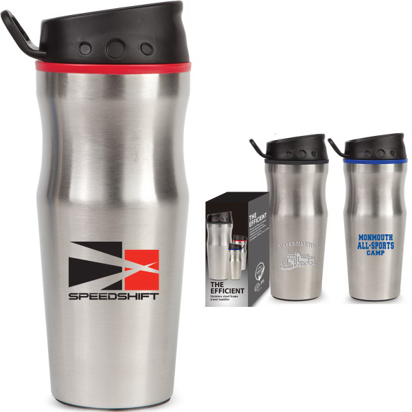 The Efficient 16 oz Stainless Steel Tumbler