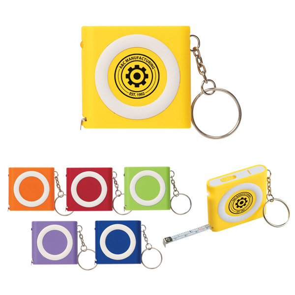 Discount Revolution Tape Measure With Light