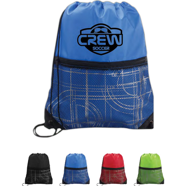 Printed Mesh Pocket Sport Pack