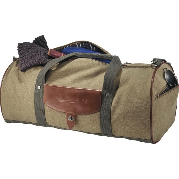 Cutter & Buck (R) Legacy Cotton Roll Duffel