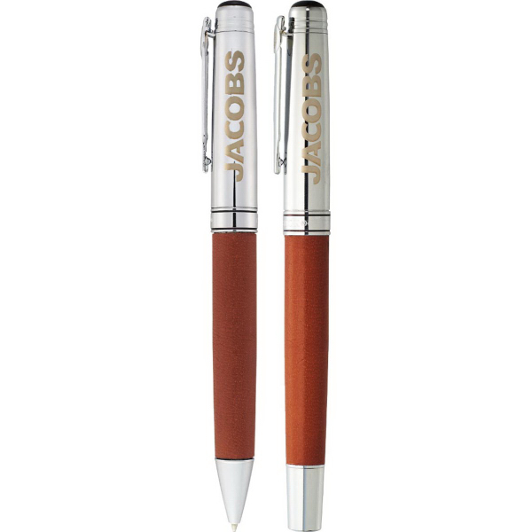 Premium Cutter & Buck (R) Legacy Wrap Pen Set