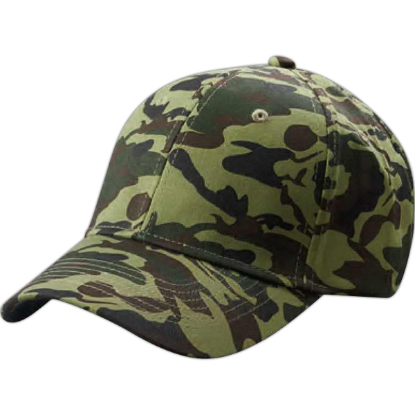 15871d6dd05988 Big Accesories Structured Camo Hat. Request a Sample