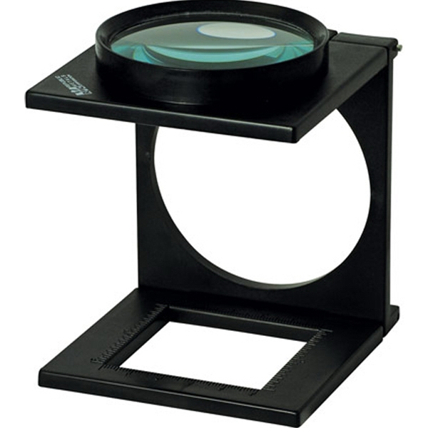 3.3X Folding Stand Magnifier with Ruler
