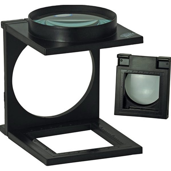 3x Folding Stand Magnifier with Ruler