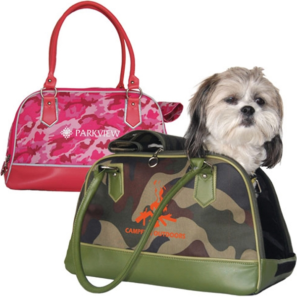 Camo Travel Tote Pet Carrier