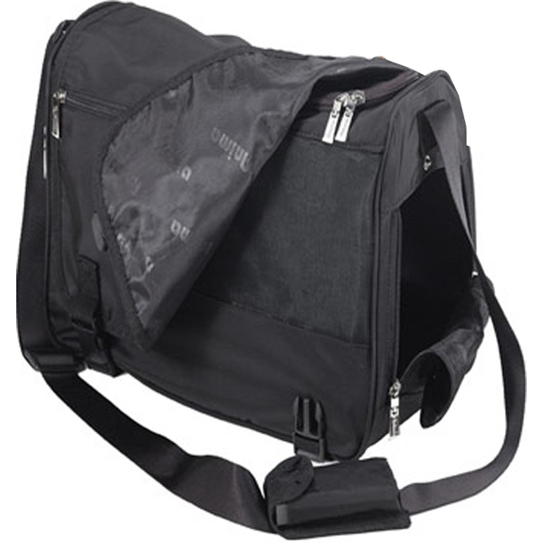 Deluxe Messenger Bag Style Pet Carrier