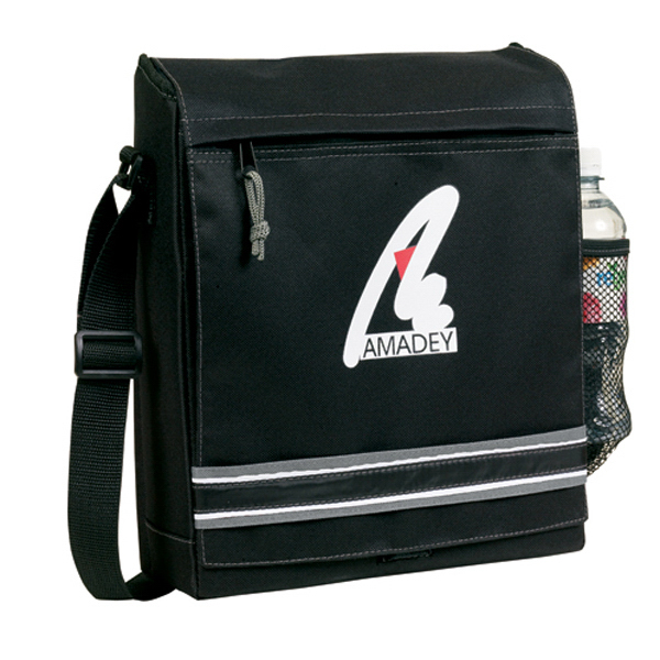 Contemporary Techno Converter Messenger Bag
