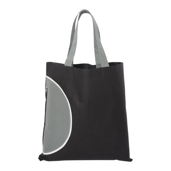 Tote Bag with Zipper Pocket