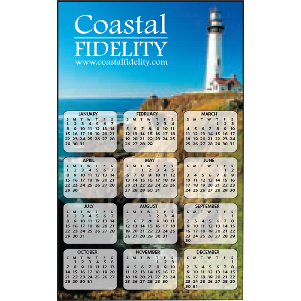 Full Color Calendar Decal