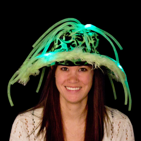 779b905662257 Green Light Up LED Show Daddy Hat