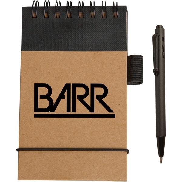 Eco Pocket Jotter with Micro-Pen
