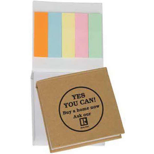 Small Note Pad with Sticky Flags