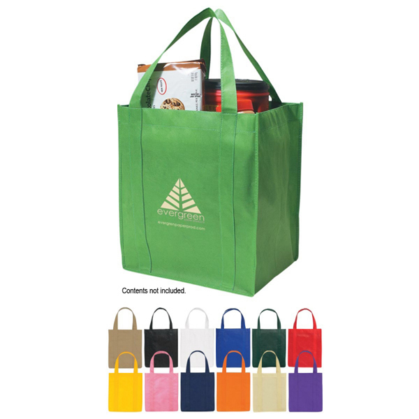 Discount Custom Non-Woven Shopper Tote Bag
