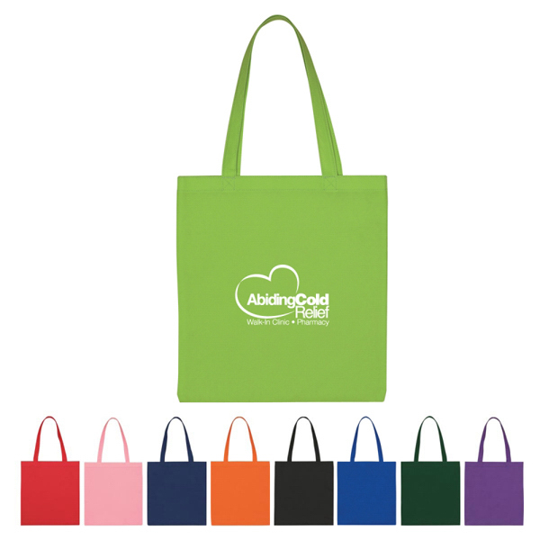 Discount Custom Non-Woven Economy Tote Bag