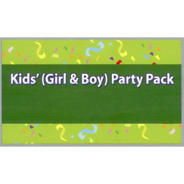 Boy's and Girls Party Pack Temporary Tattoos