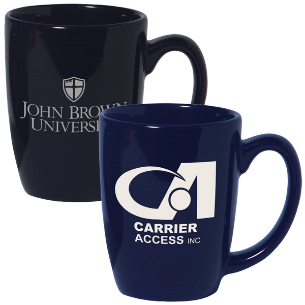 12 oz. Ceramic Challenger Coffee Mug; Colors - ON SPECIAL