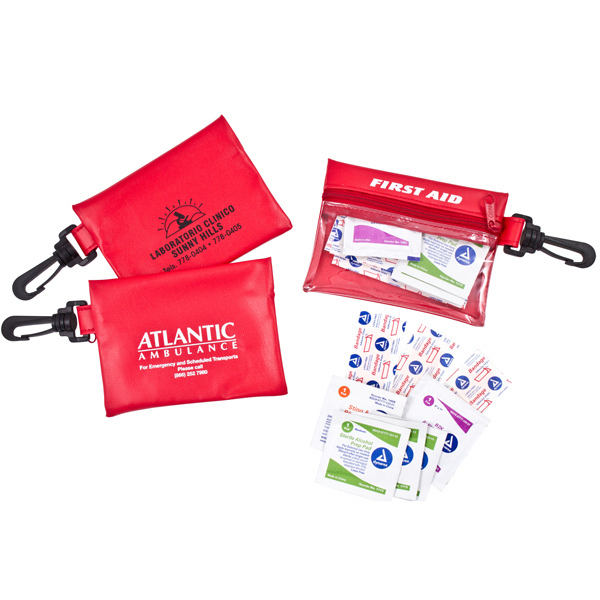 First Aid Pouch with Clip