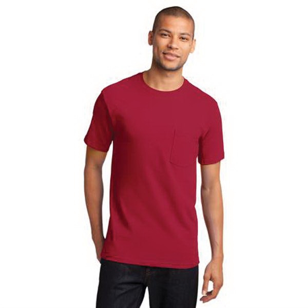 Port & Company (R) Essential T-Shirt With Pockets