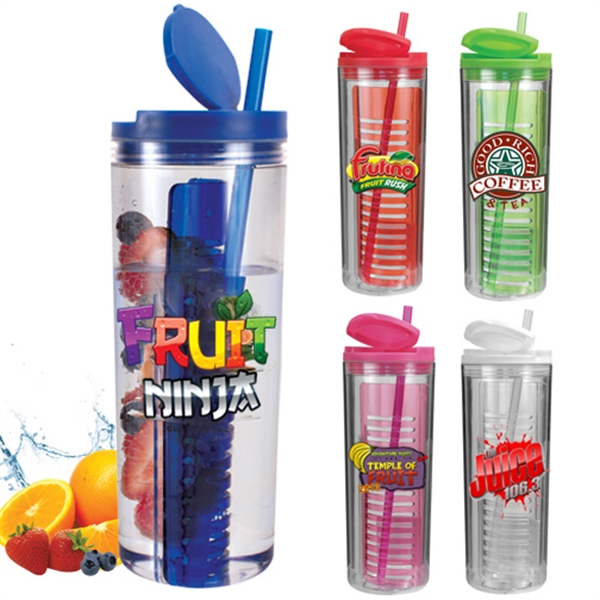 20 Oz Infuser Tumbler Full Color Digital