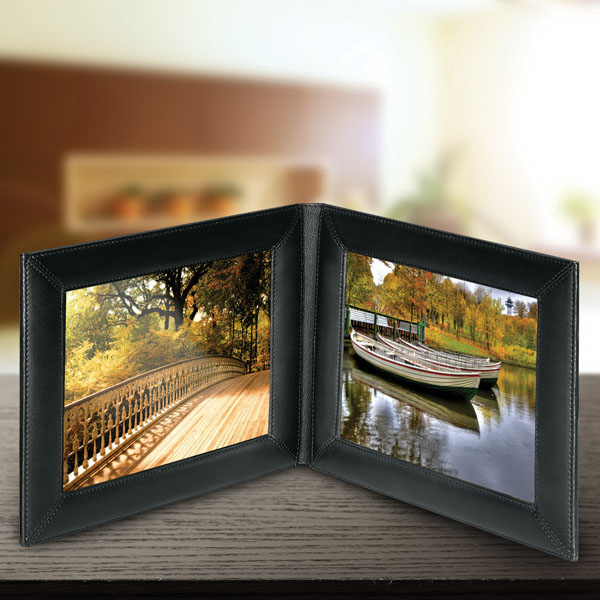 Double 5 X 7 Landscape Picture Frame Goimprints
