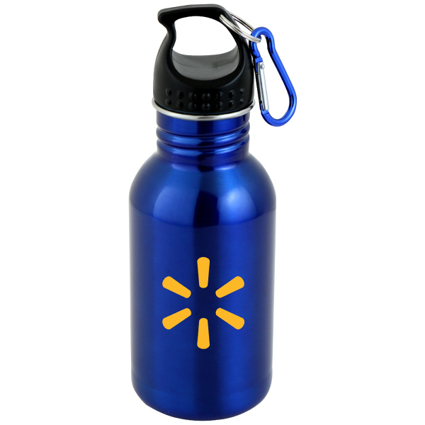 17 oz. Fitness Water Bottle with Carabiner